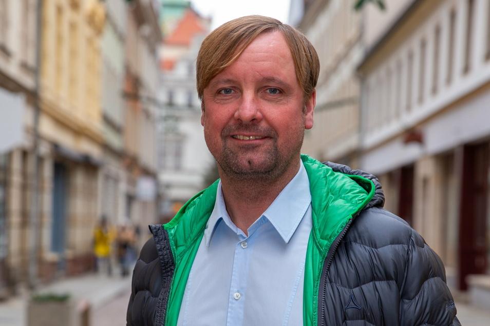 Einst bei Dynamo, jetzt schon seit neun Jahren an der Spitze beim VfL Pirna-Copitz: Stefan Bohne.