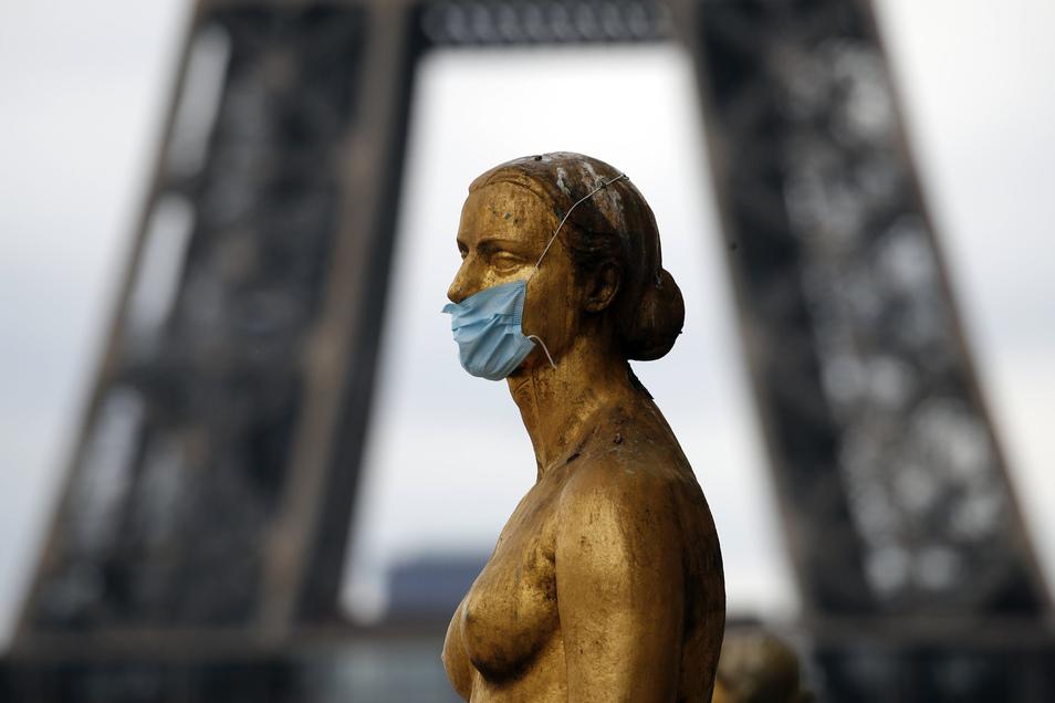 In Frankreich bleibt die Bewegungsfreiheit der Menschen nach wie vor eingeschränkt.