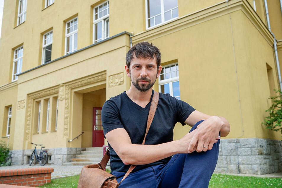 Paul Gutsche, Elternvertreter der Mättig-Grundschule Bautzen, und andere Eltern kritisieren auch den jüngsten Hort-Vorschlag der Stadt und dürfen jetzt im Sozialausschuss erklären, warum.