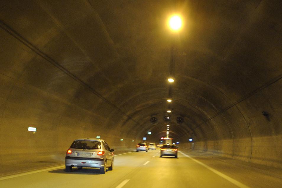 Die A17-Tunnel werden nächste Woche gewartet.