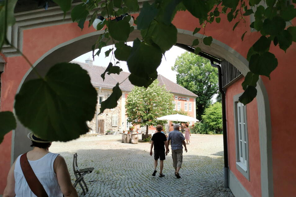 Auch das Wohngut von Familie Richter in Hausdorf hatte Sonntag geöffnet.