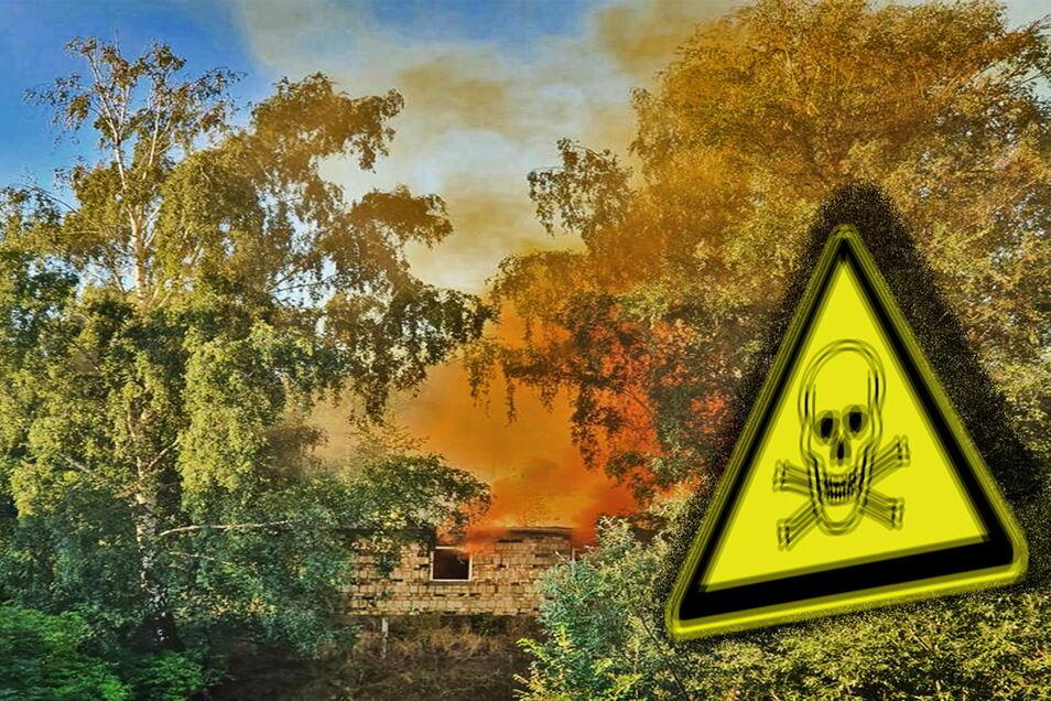 Eine Giftgaswolke haben Anwohner am Morgen des 21. August 2020 über der Weststadt von Leisnig entdeckt. Die sorgte für einige Aufregung.