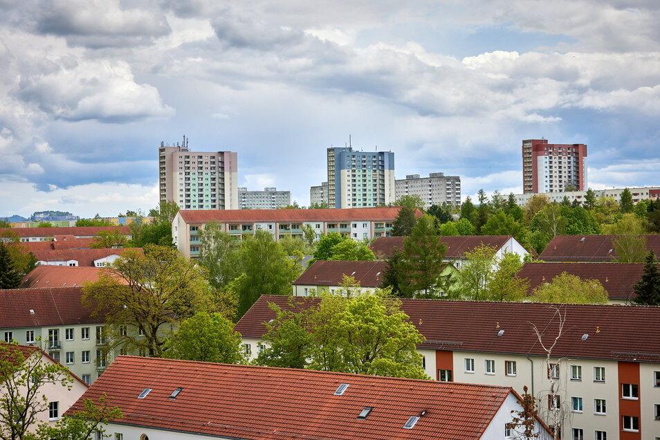Ein Blick über Pirna-Sonnenstein, wo am 24. Juli ein Straßenfest steigt.
