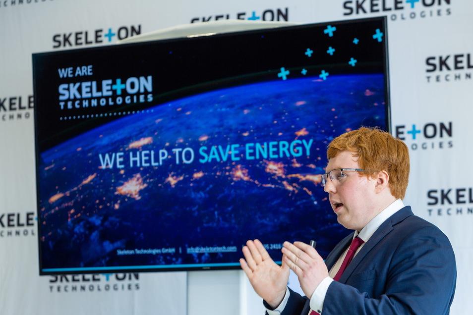 Taavi Madiberk, Mitgründer und Vorstandschef von Skeleton Technologies, hat die vierte Finanzierungsrunde erfolgreich hinter sich gebracht.