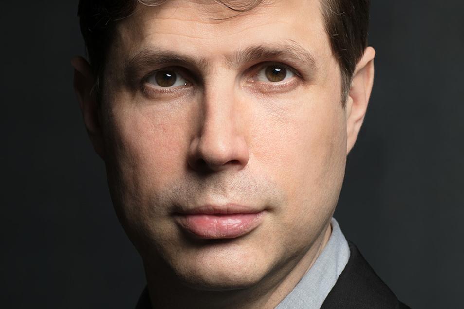"""Daniel Kehlmann stellt in Dresden seinen Roman """"Tyll"""" vor."""