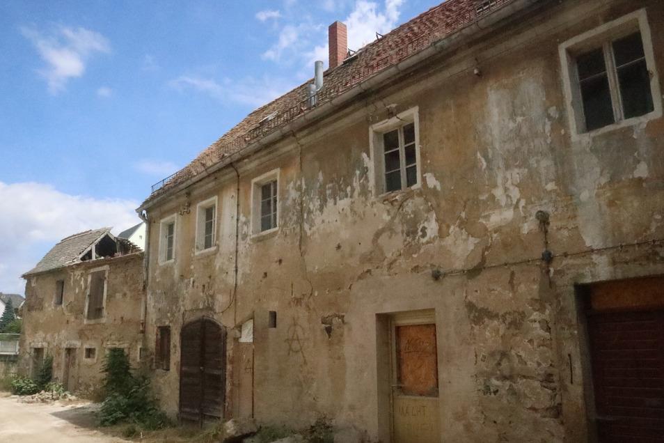 Der alte Panschwitzer Gasthof soll abgerissen werden.