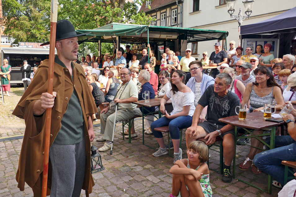 So wie zuletzt 2019 soll auch in diesem Jahr wieder das Altstadtfest in Leisnig gefeiert werden.