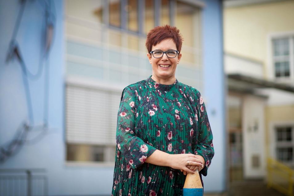 Annegret Klan leitet seit Juli die Montessori-Schule in Bautzen. Dafür hat sie in den letzten zwei Jahren noch einmal studiert.