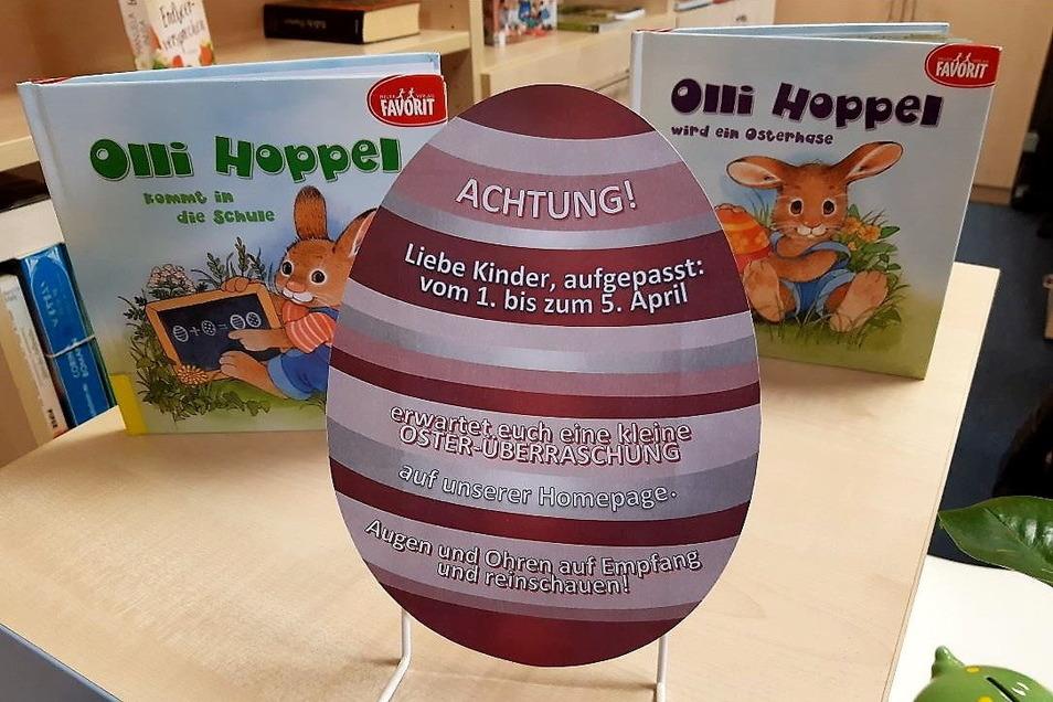 Die Stadtbibliothek Bischofswerda bietet eine digitale Ostersuche auf ihrer Internetseine an.