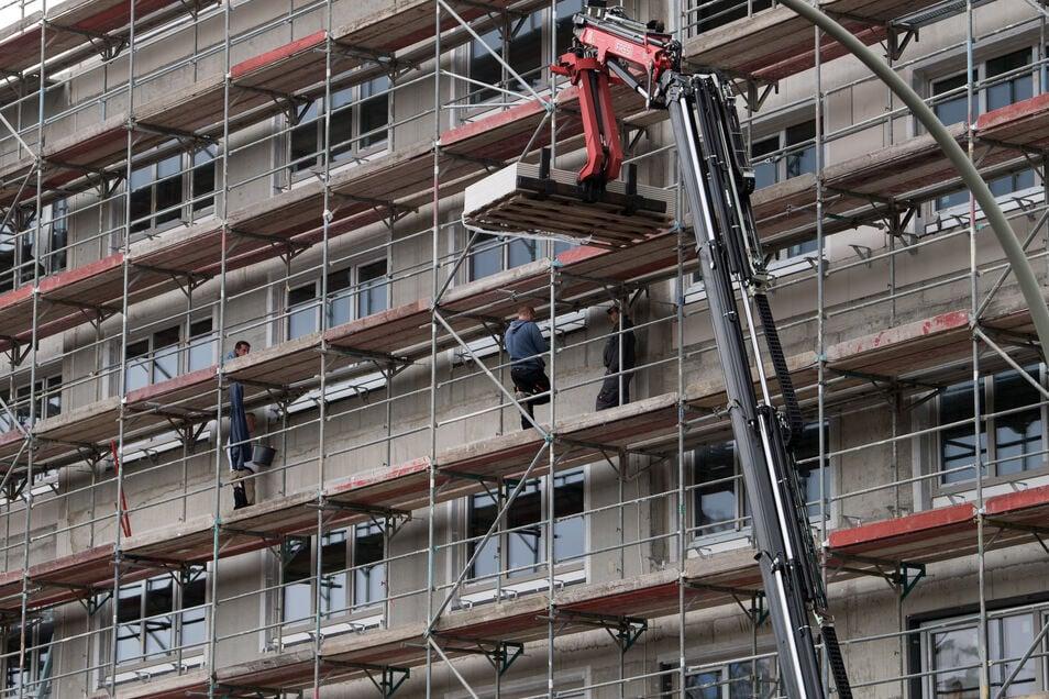 Bundesweit ist der Bestand an Sozialwohnungen kleiner geworden. In Sachsen zeigt die Förderung des sozialen Wohnungsbaus andere Auswirkungen.
