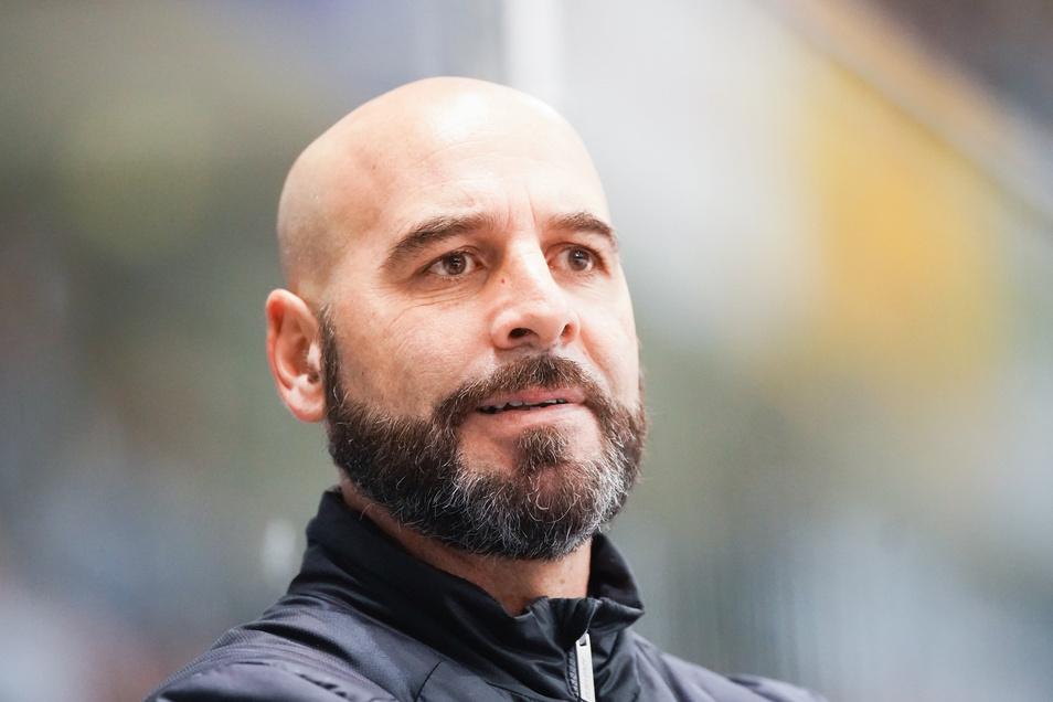 Eislöwen-Trainer Rico Rossi sieht die nächste Pleite.