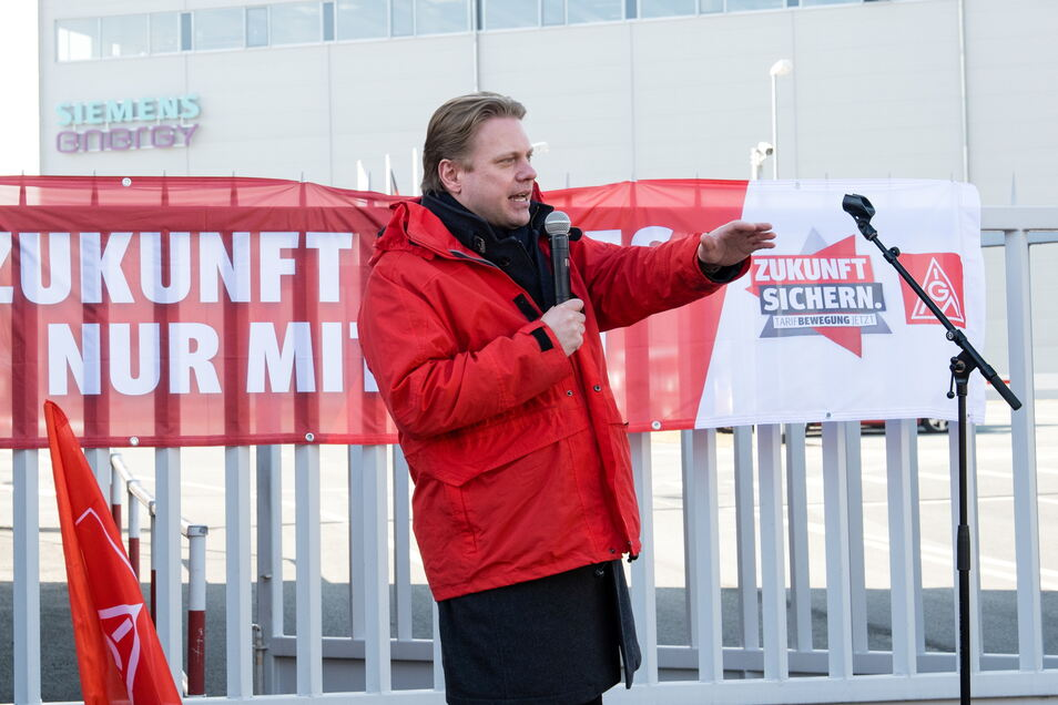 Erst im März wieder gab es bei Siemens in Görlitz einen Warnstreik, organisiert von Jan Otto. Er kämpft nun für Berliner Betriebe.
