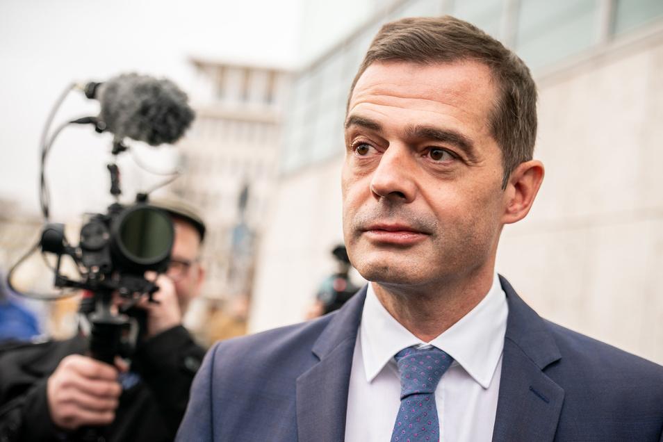 Mike Mohring tritt als Landesvorsitzender der CDU in Thüringen zurück.