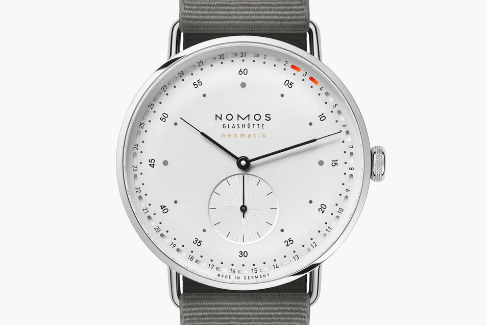 Nomos-Uhr 2: Das Modell Metro Neomatik 41 Update kostet 3.500Euro.