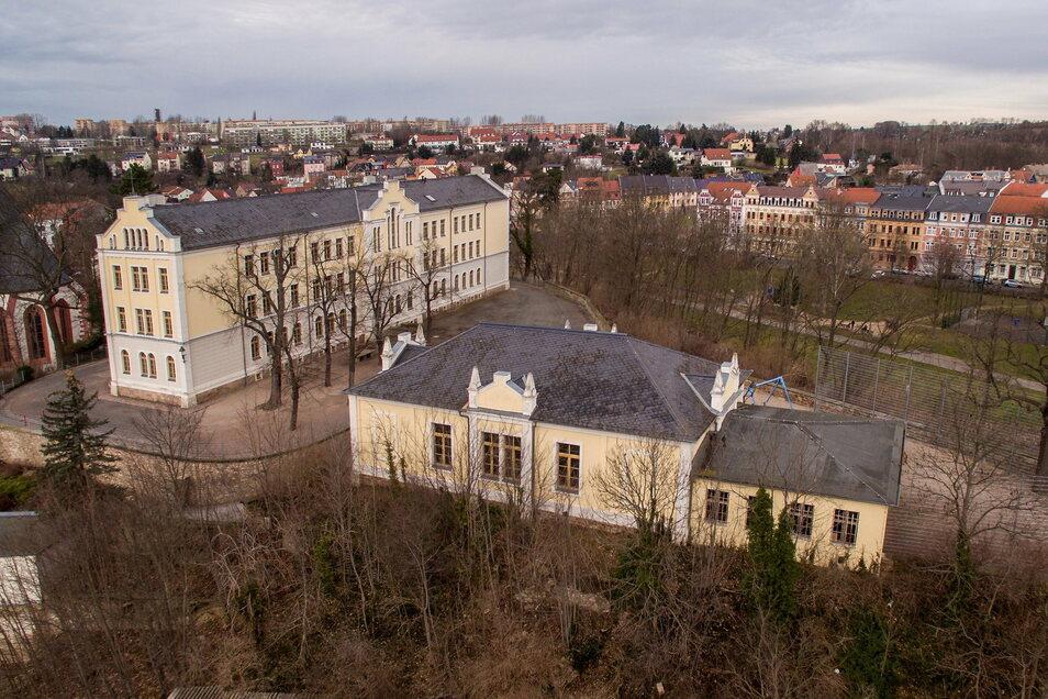 Die Schloßbergschule wurde 1868 anstelle der Döbelner Burg erbaut. Jetzt ist absehbar, dass die Förderschule in einigen Jahren nach Döbeln Ost umzieht. Aber was wird dann aus dem Areal. In einer Machbarkeitsstudie sollen Ideen für eine Nachnutzung un