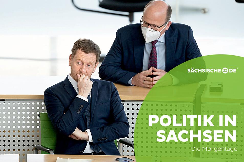 Die Landesregierung um Ministerpräsident Michael Kretschmer plant ab Mitte Juni weitere Lockerungen.