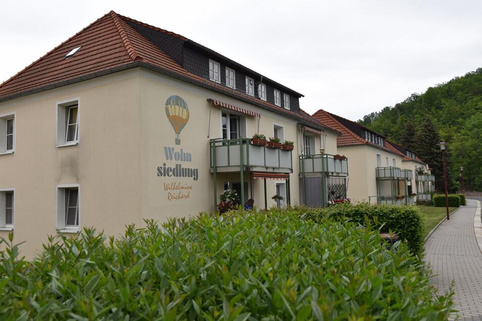 Beliebte Wohnungen: Die nach der Ballonfahrerin Wilhelmine Reichardt benannte Siedlung gehört zur WGF.