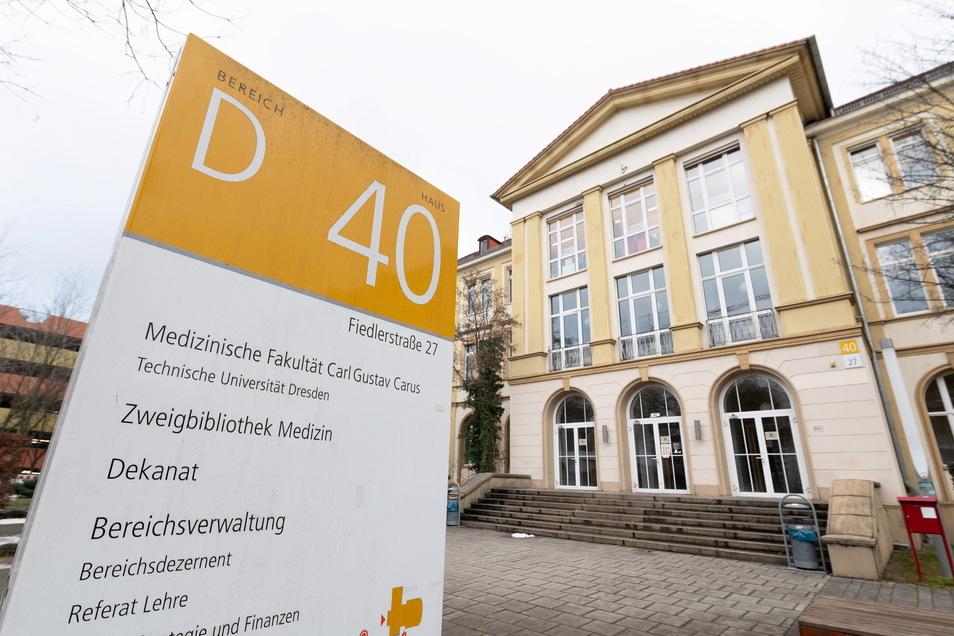 Die Medizinische Fakultät der TU Dresden am Uniklinikum.