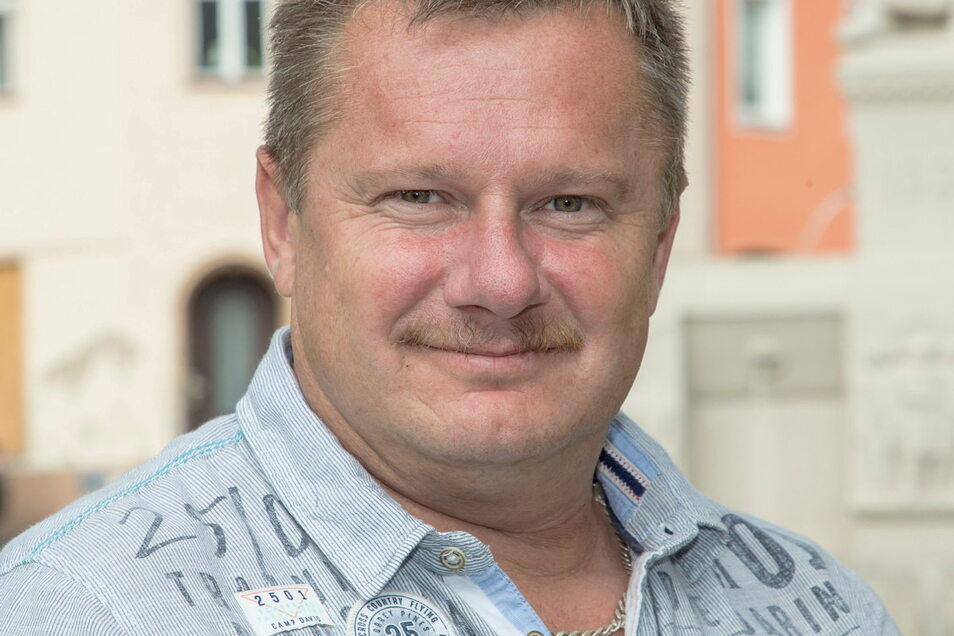 Maik Lehmann von der Wählervereinigung Zeitlos trat schon mal an, möchte sich aber derzeit zu seinen Plänen nicht äußern.