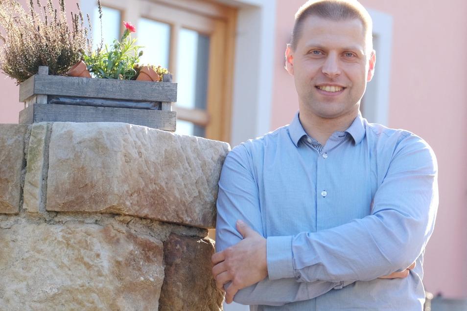 Kann die Klipphausener Bürgermeisterwahl für sich entscheiden: Mirko Knöfel zieht ins Rathaus ein.