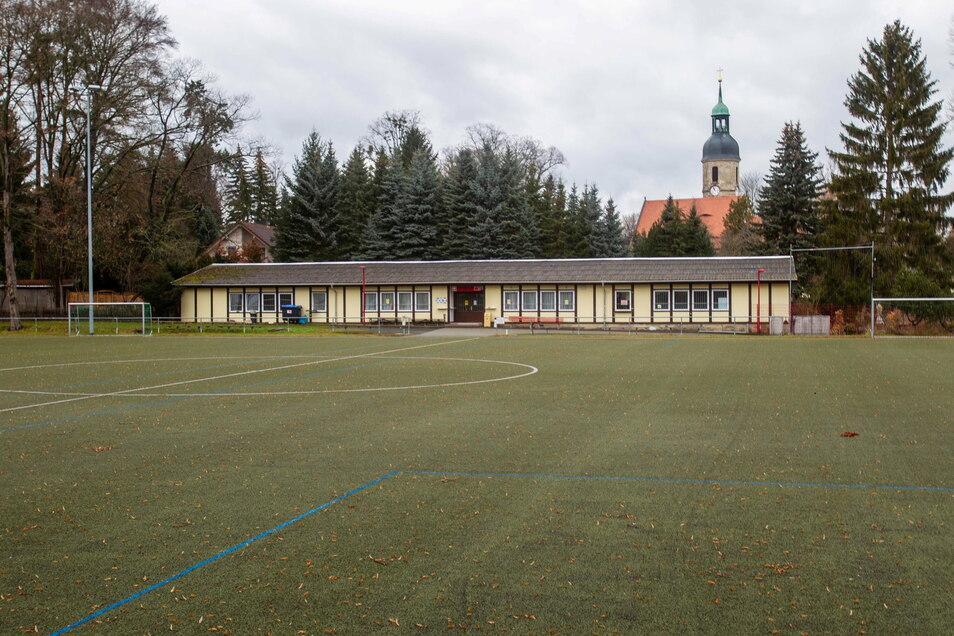 Das Sportlerheim des TSV Kreischa soll umgebaut und saniert werden.