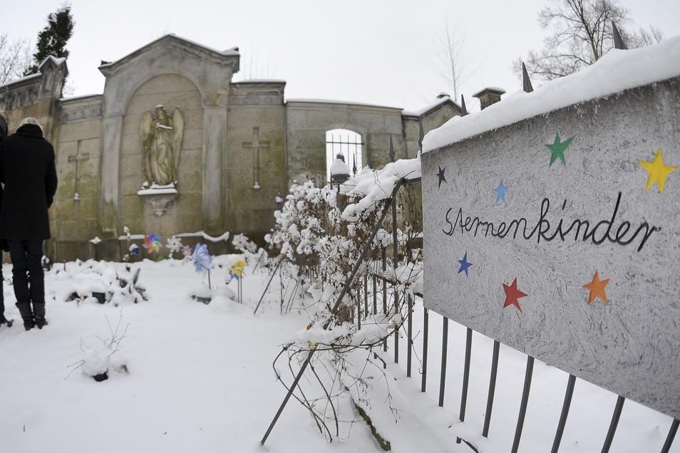 Der in diesem Jahr beigesetzten Sternenkinder wird am Sonntag auf dem Görlitzer Friedhof gedacht.