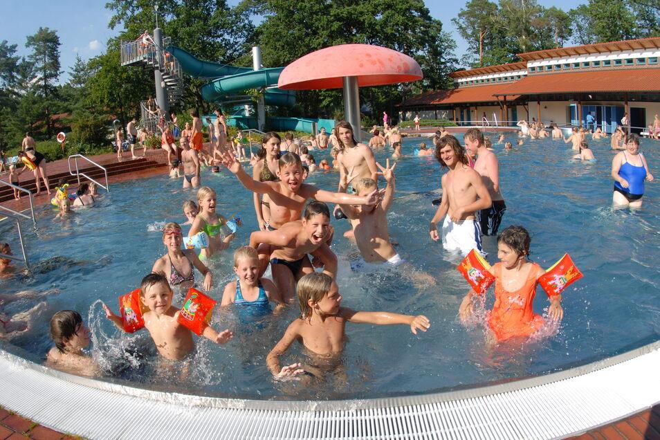 Das Waldbad Niesky ist im Sommer gern besucht.