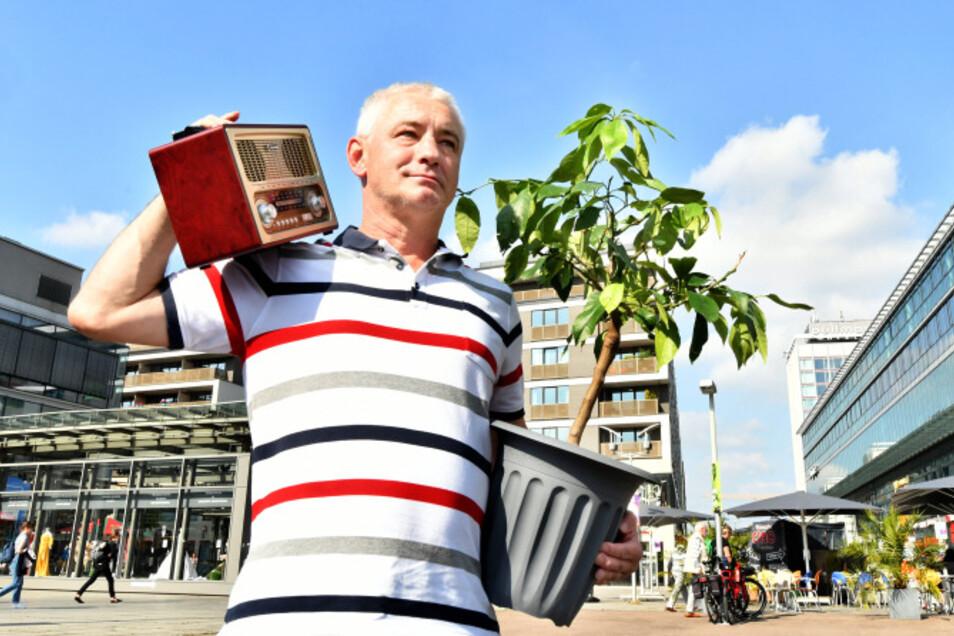Thomas Hoegg will mit seiner Spendenaktion für einen grüneren Wiener Platz an Udo Jürgens erinnern.