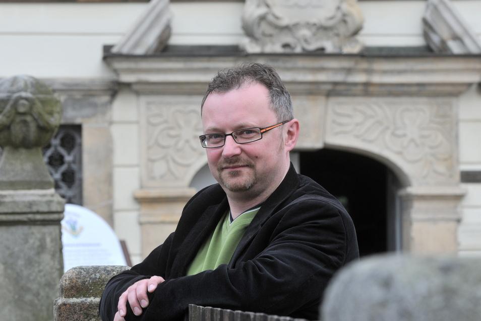 Stefan Kubitz organisiert das Volksfest zum Bierzug.