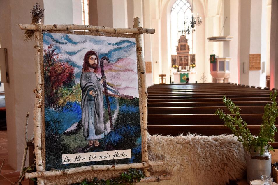 """""""Der Herr ist mein Hirte"""" - das spirituelle Klangerlebnis gastiert für drei Monate in der Johanneskirche Hoyerswerda."""