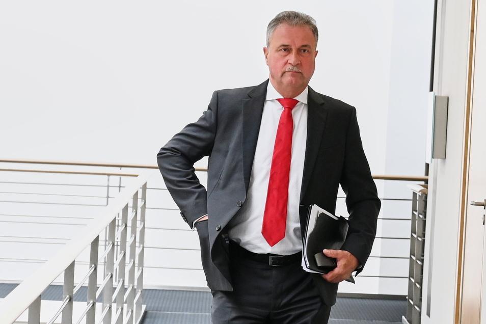 Gibt sich kämpferisch: Claus Weselsky, Vorsitzender der Lokführergewerkschaft GDL