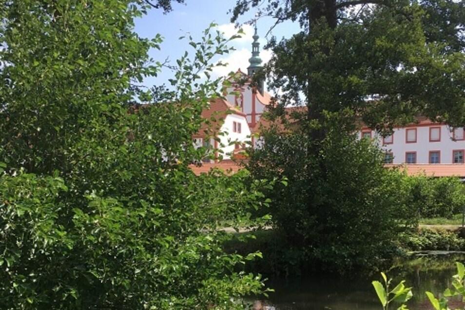 Erster Blick auf das Kloster