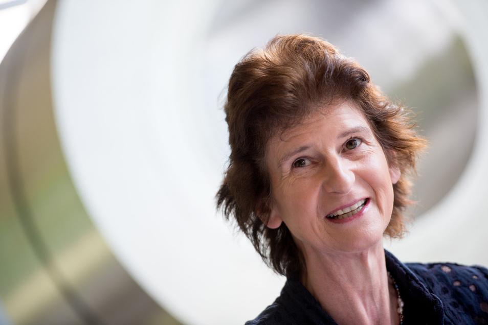 Sachens  Wissenschaftsministerin Eva-Maria Stange glaubt an die Dresdner Uni und ihren Elite-Status.