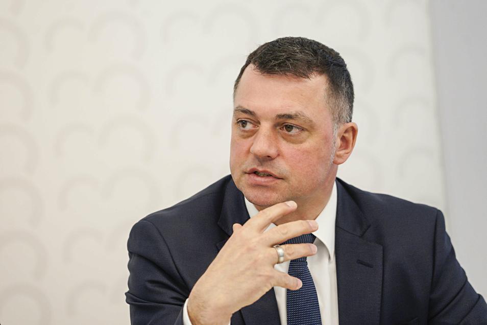 Udo Witschas ist Erster Beigeordneter im Bautzener Landratsamt und Stellvertreter des Landrates Michael Harig. Dessen Nachfolge möchte der frühere Bürgermeister von Lohsa 2022 gern antreten.