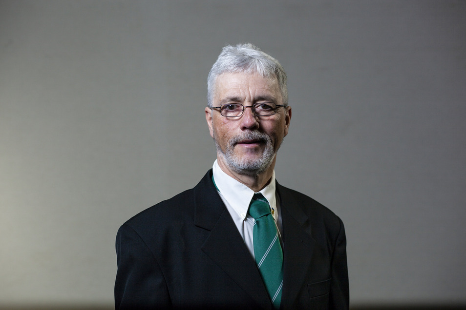 Frank Reimann ist Vorsitzender und Geschäftsführer des Niederschlesischen Kleingärtnerverbandes.