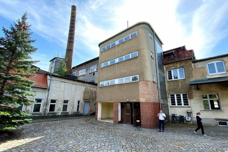 Das künftige Dokumentatiosnzentrum soll auch den von Hans Scharoun entworfenen Teeppenhausturm der Nudelfabrik ins Ensemble einbinden.