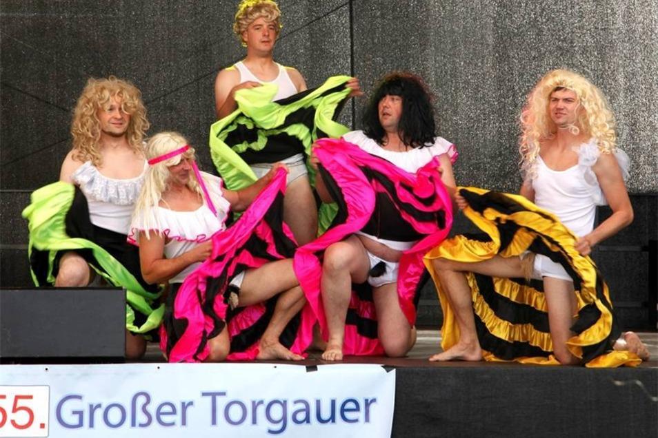 ...und Karneval auf der Bühne vom Torgauer Carneval Club e.V.