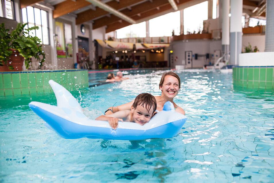 Zum Trixi-Ferienpark gehört auch das Trixi-Freizeitbad.