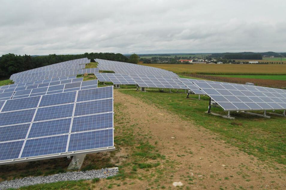 In Nadelwitz bei Bautzen gibt es auch einen Solarpark.