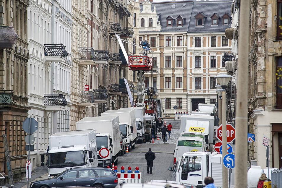 Görlitzer sind Straßensperrungen wegen Filmproduktionen gewohnt.