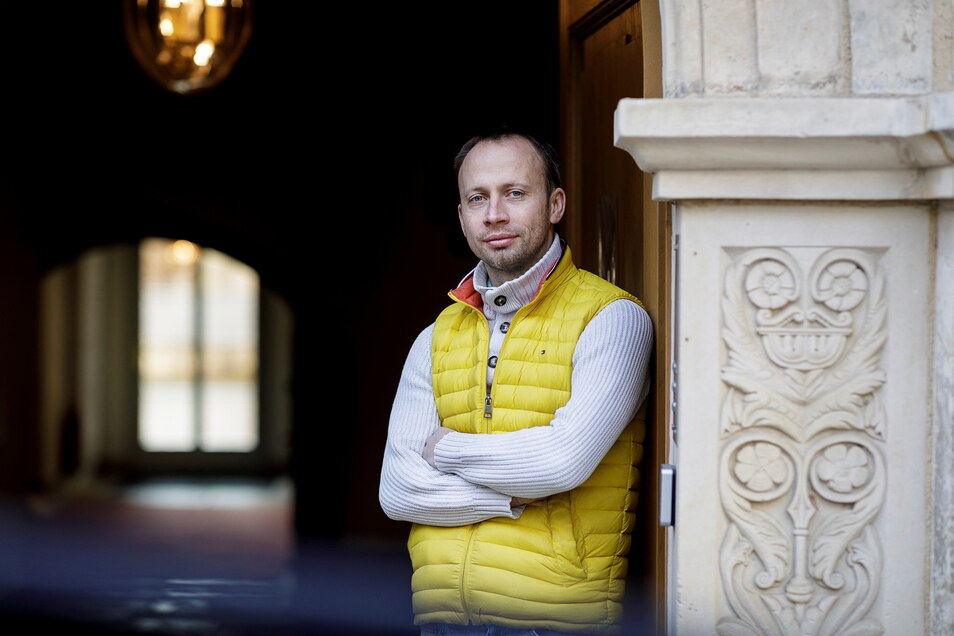 Paul Otto betreibt in Görlitz ein Hotel, das seinen Namen trägt.