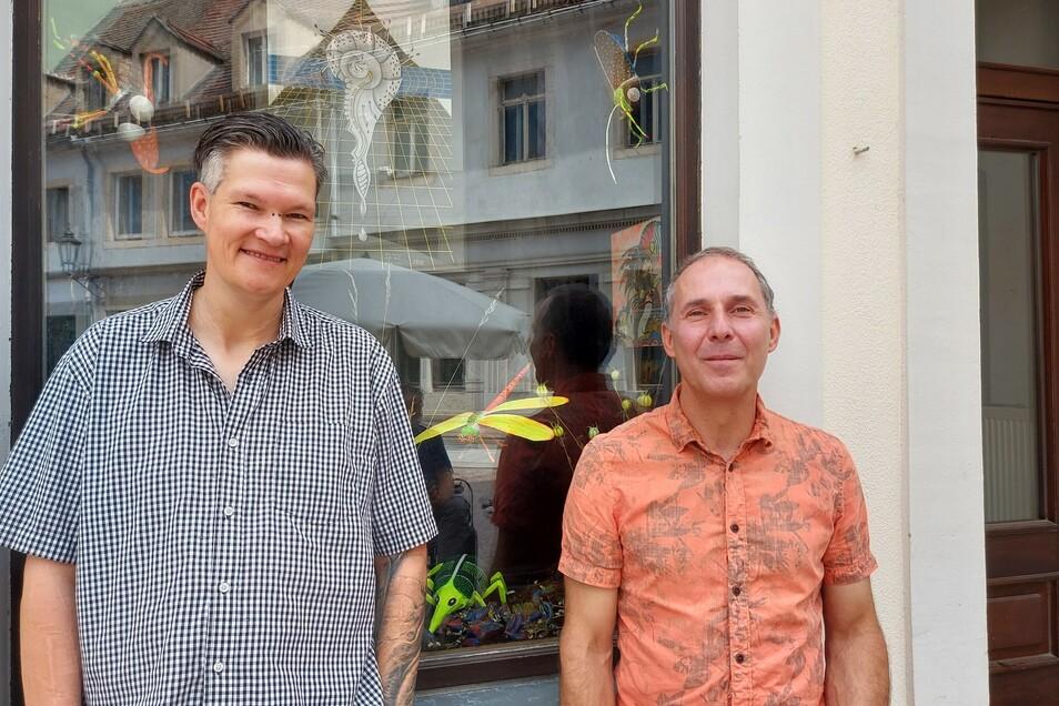 Robert Maier und Gerd Melchinger