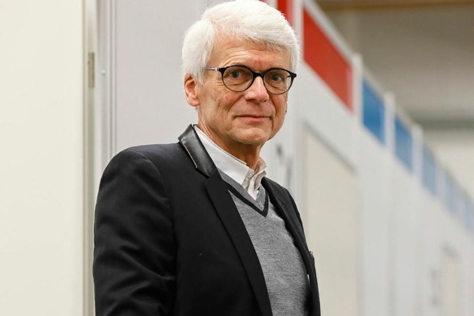Dr. Hans-Christian Gottschalk ist Impfarzt in Löbau und leitete lange die Kinderklinik Görlitz.