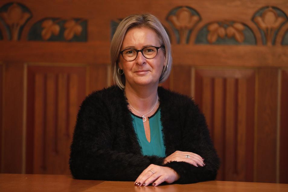 Die Ostritzer Bürgermeisterin Marion Prange gehört zu den Initiatoren zu der Stellungnahme zu den Ehrenbürgerschaften aus der NS-Zeit.