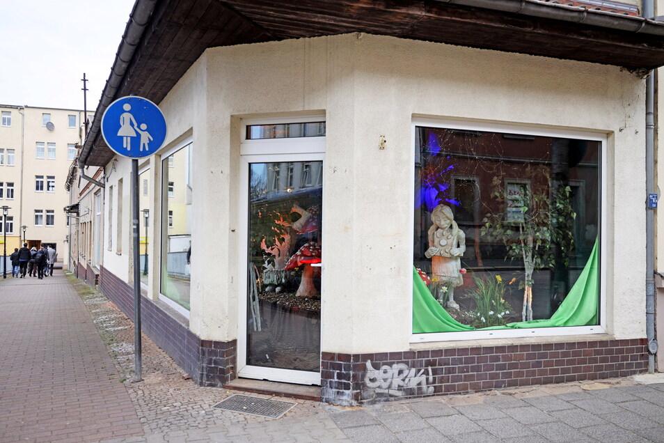 Als erster von sieben Funkel-Fenster-Standorten wurde die ehemalige Wäscherei an der Goethestraße fertig.