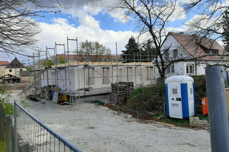 In der Steinstraße wird gebaut.
