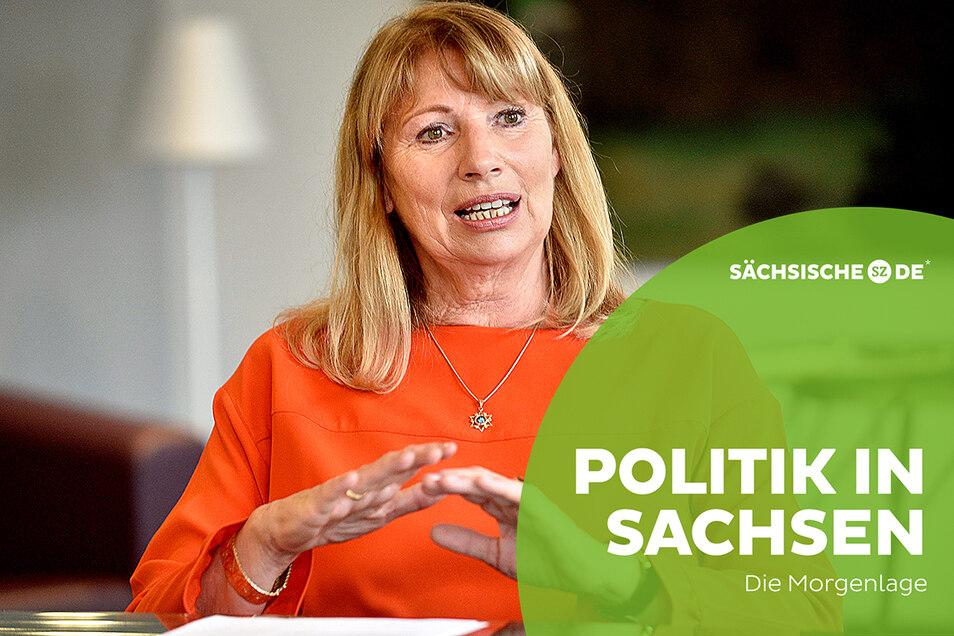 Sachsens Gesundheitsministerin Petra Köpping hat eine erste Bilanz des Corona-Krisenmanagement gezogen - und spart dabei nicht mit Selbstkritik.
