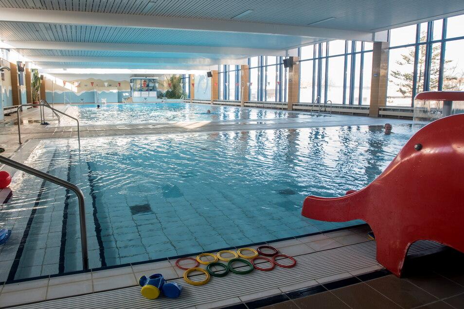 Das Hallenbad in Kamenz öffnet ab kommenden Montag wieder für den Besucherverkehr.