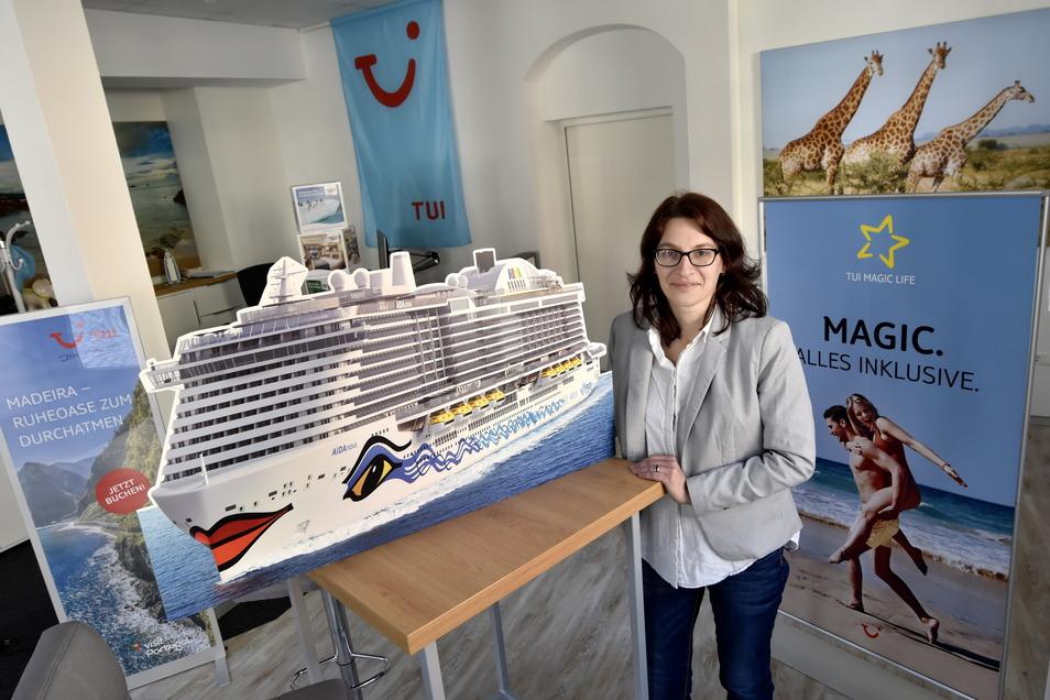 """""""Alle wollen verreisen"""", sagt Doreen Thämelt vom gleichnamigen Reisebüro in Radeberg. Doch es gebe ein großes Hindernis."""