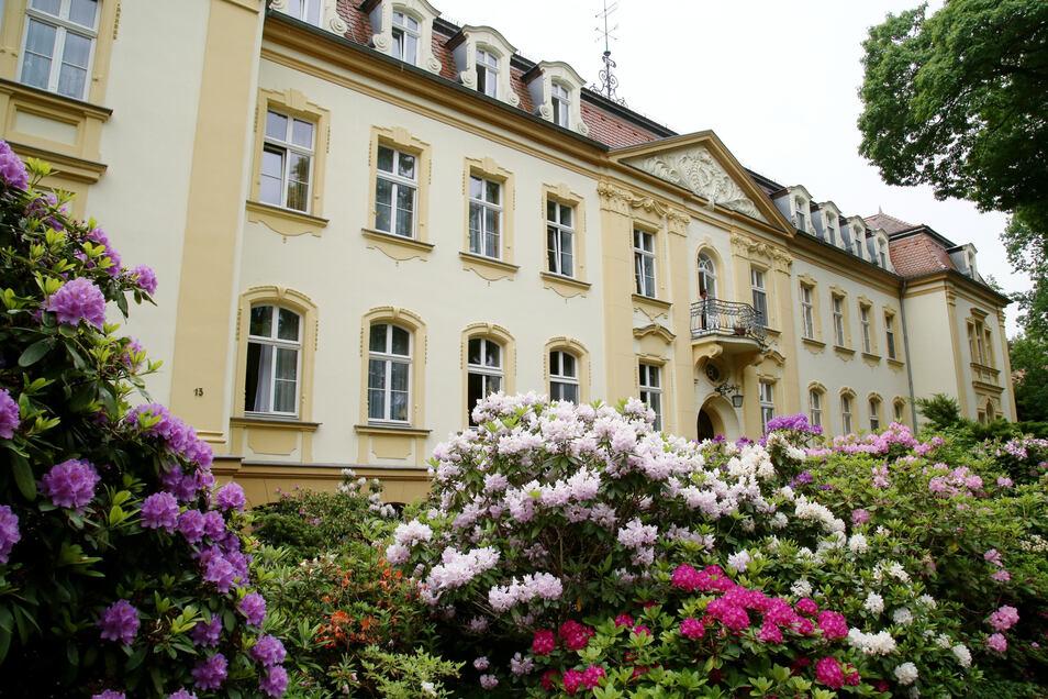 """Altenpflegeheim """"Abendfrieden"""" von Emmaus in der Plittstraße."""